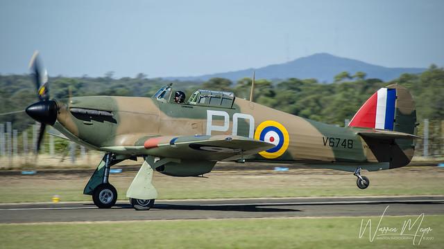 Hawker Hurricane Mk XII/IIB