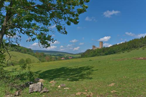aussicht landschaft ehrenstein thüringen thuringia castle burg ruin ruine ilce7rm3 sel1635gm