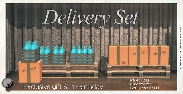 Delivery Set : Exclusive gift @ SL 17B Shop & Hop Event