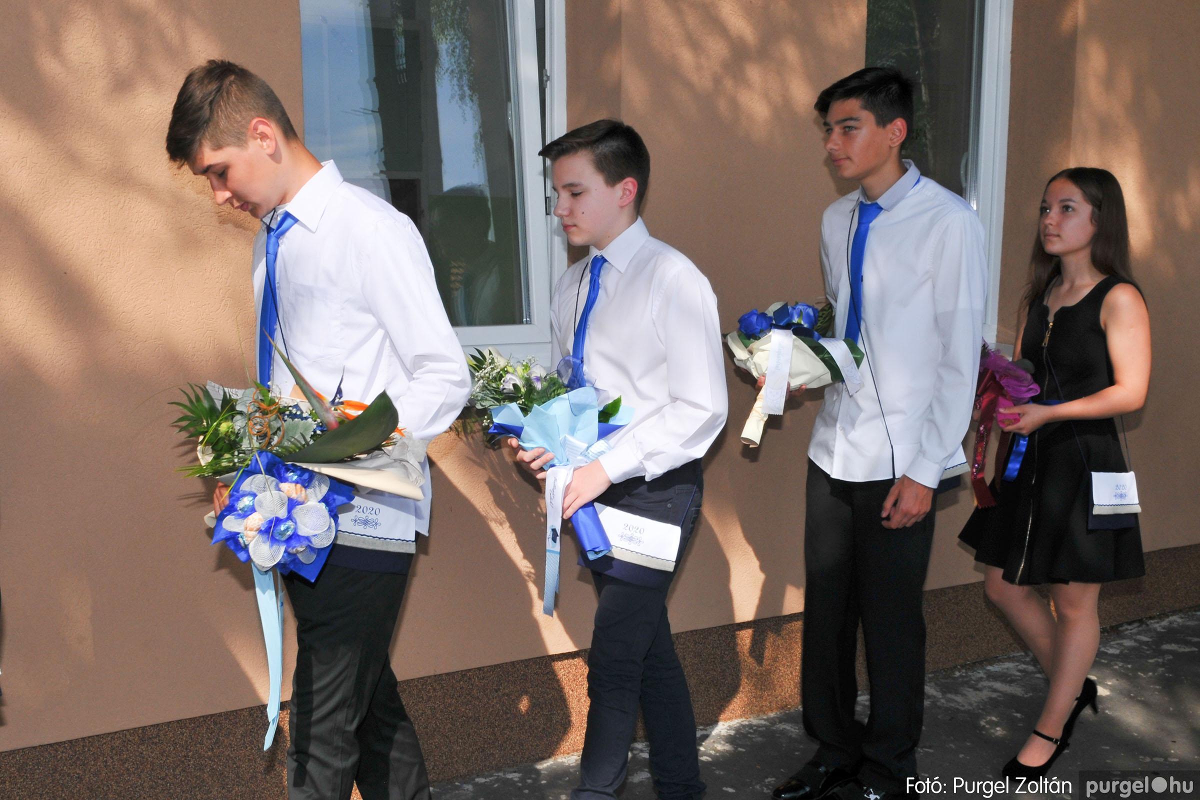 2020.06.13. 063 Forray Máté Általános Iskola ballagás 2020. - Fotó:PURGEL ZOLTÁN© D3K_7438q.jpg