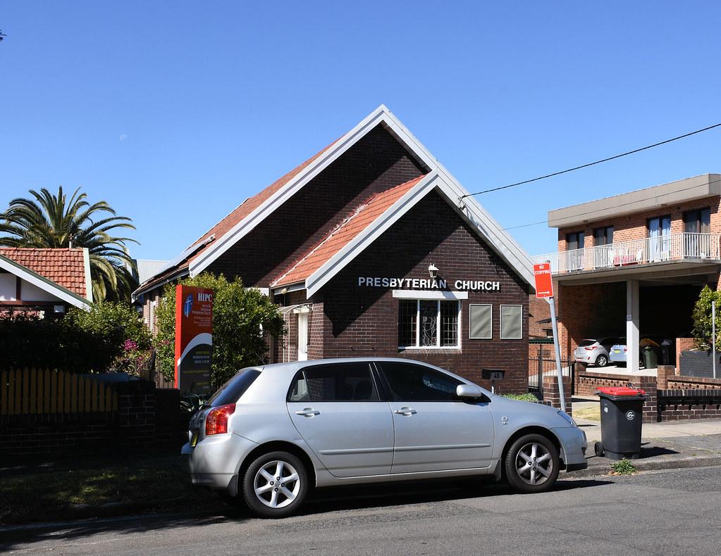 Prebyterian Church, Earlwood, Sydney, NSW.