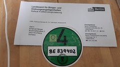 Umweltplakette für deutsche Innestadt
