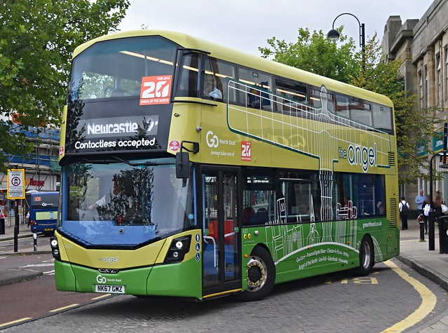 Go North East 6321: NK67GMZ