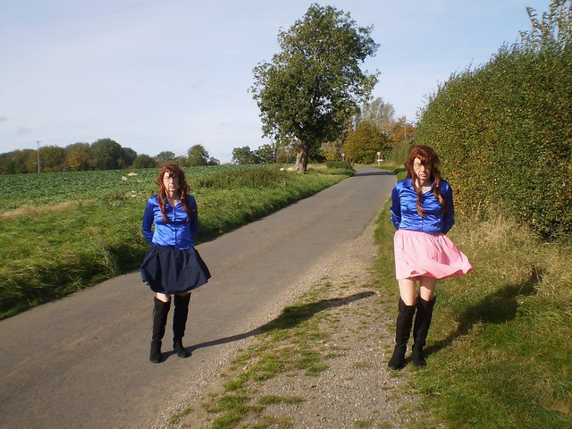 double take in a country lane