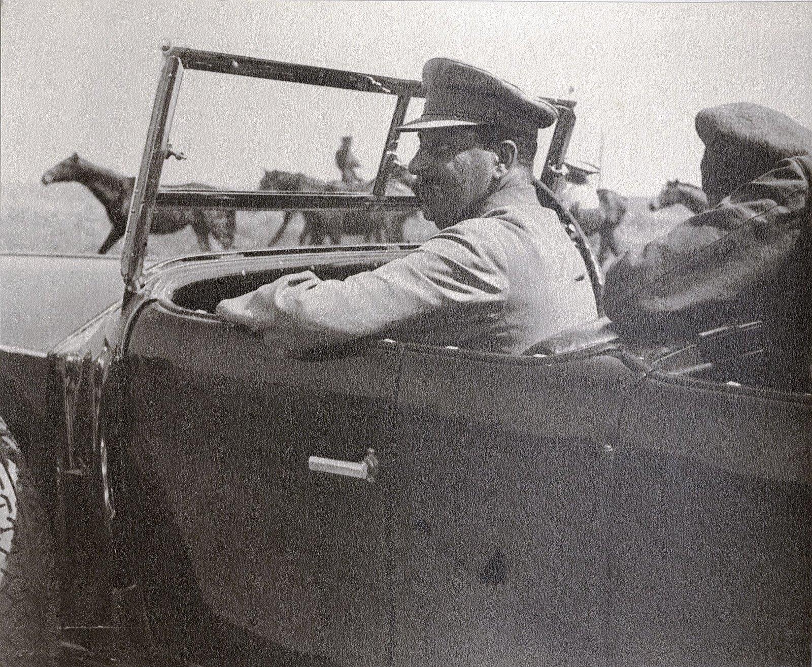63. И.В. Сталин в ходе поездки по Сальским Степям