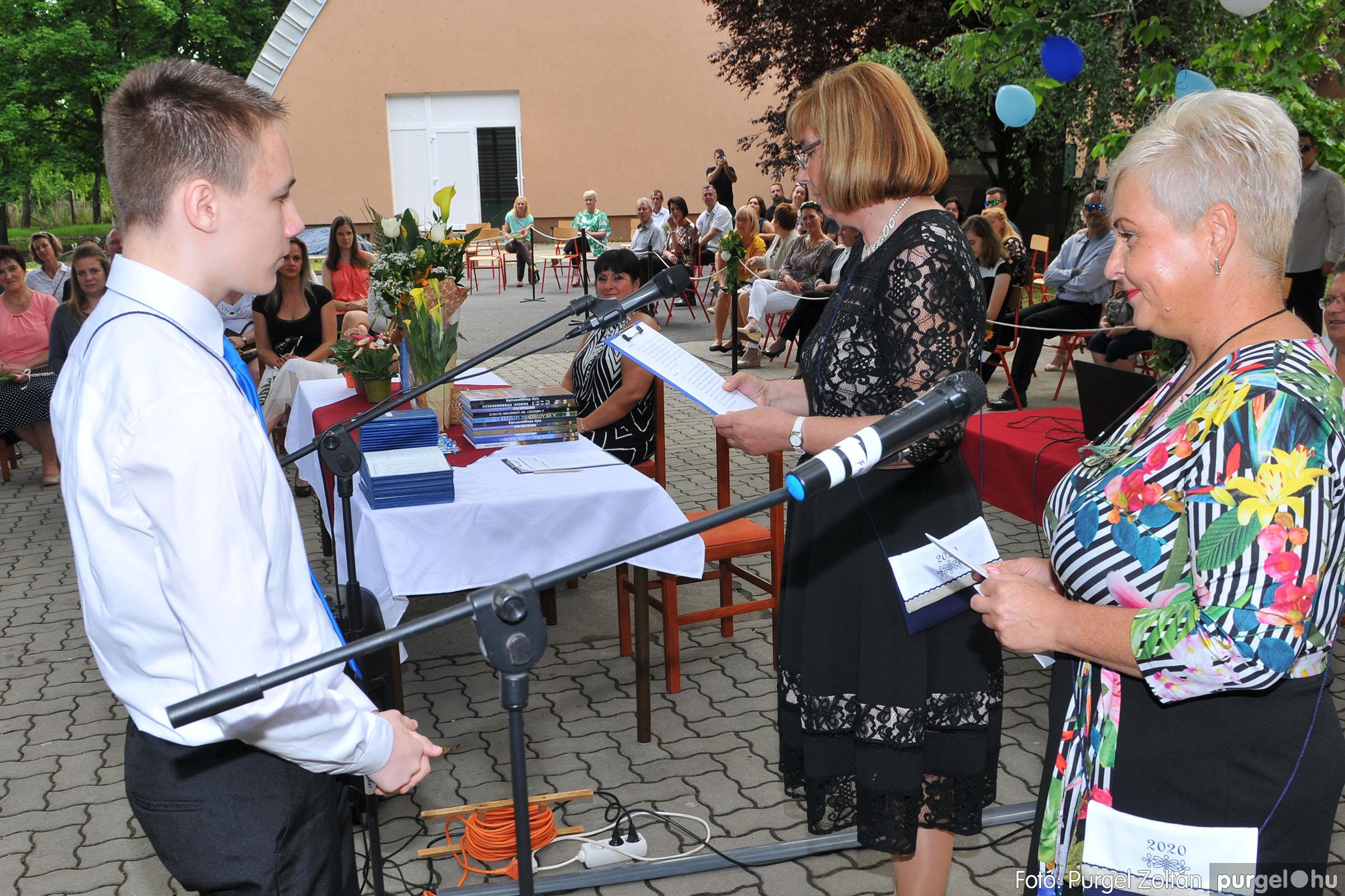 2020.06.13. 106 Forray Máté Általános Iskola ballagás 2020. - Fotó:PURGEL ZOLTÁN© D3K_7508q.jpg