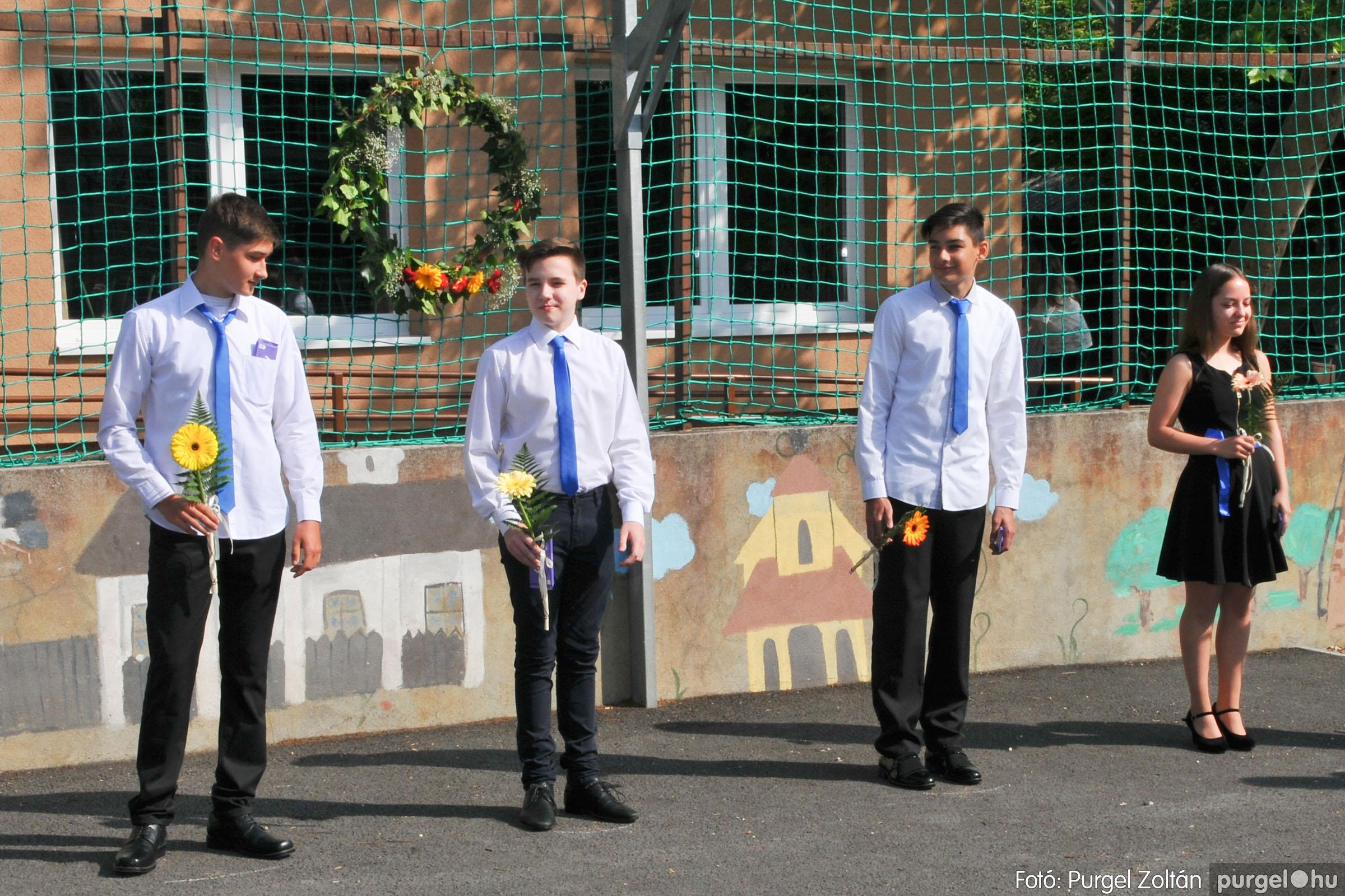 2020.06.13. 010 Forray Máté Általános Iskola ballagás 2020. - Fotó:PURGEL ZOLTÁN© D3K_7378q.jpg