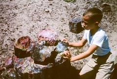 Chuck Petrified Forest National Monument AZ August 1962.jpg