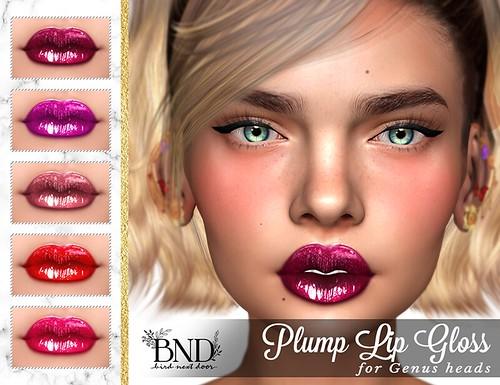 [BND] Plump Lip Gloss for Genus Heads