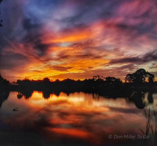sunrise reflections naturelovers nature clouds skypainter sky skycandy