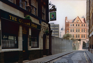 The Queen's Head, Ludgate Broadway, 1992 TQ3181-070