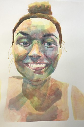 Maddie | Not Available | 2020 | 56x76cm | Watercolour Paper Cold Pressed
