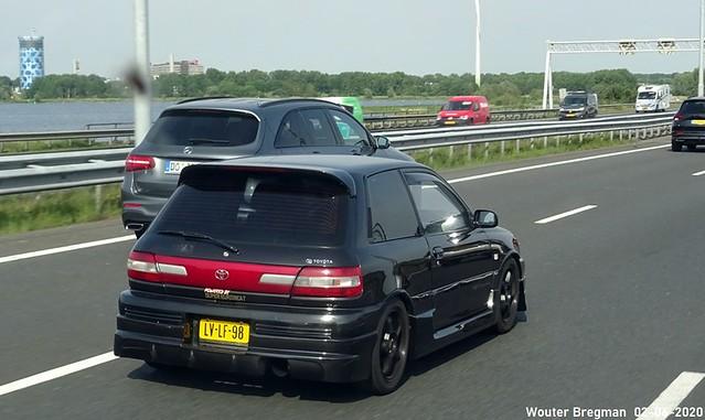 Toyota Starlet 1.3 1995 (GT Turbo look)