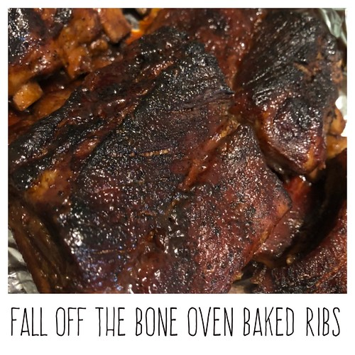Fall off the bone I've baked ribs