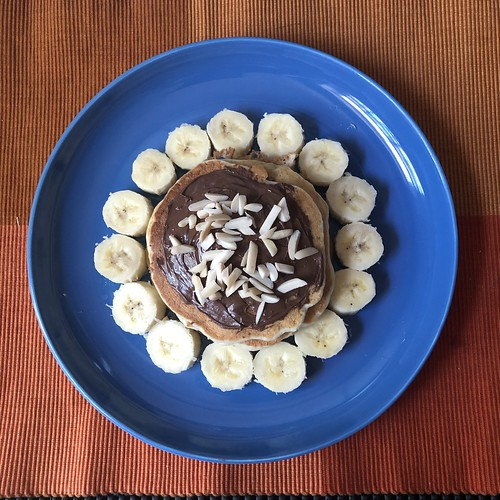 Banana pancakes Saturday