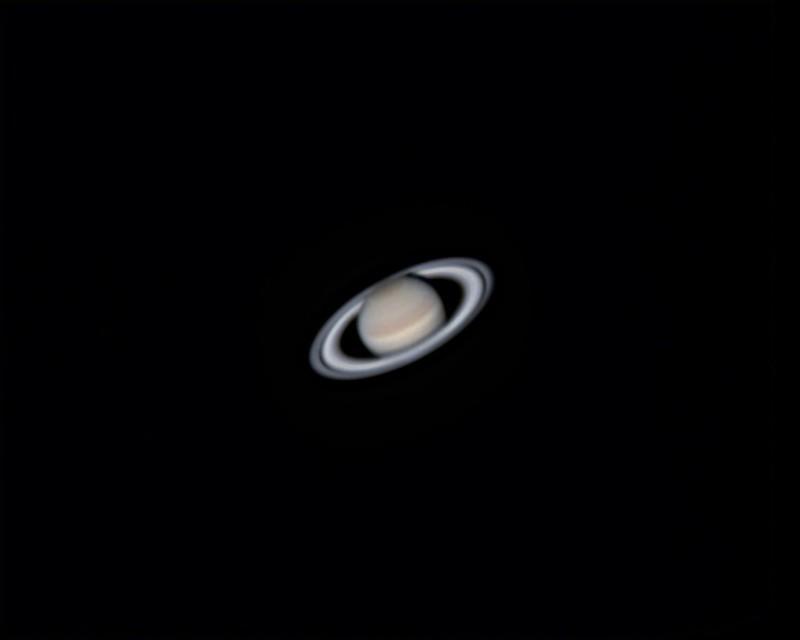 土星 (2018/4/29 03:09) (撮影:けむけむ、画像処理:なんば)