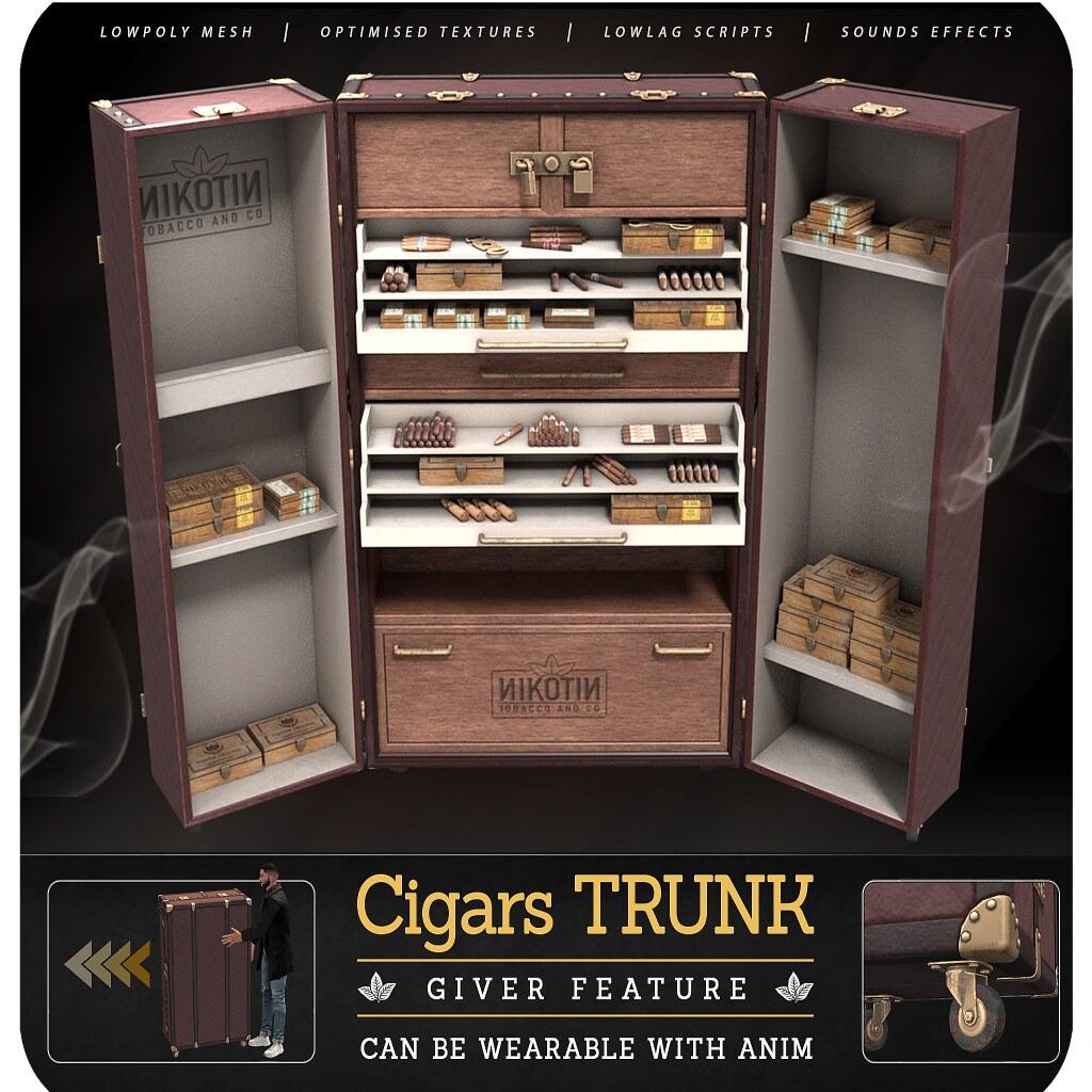 [Nikotin] – Cigars Trunk @ equal10