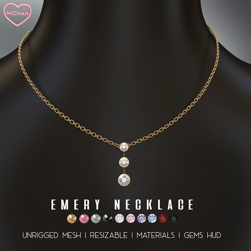Emery Necklace for The Saturday Sale