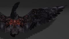 Lunistice: Dark Ember Pegasus Wings
