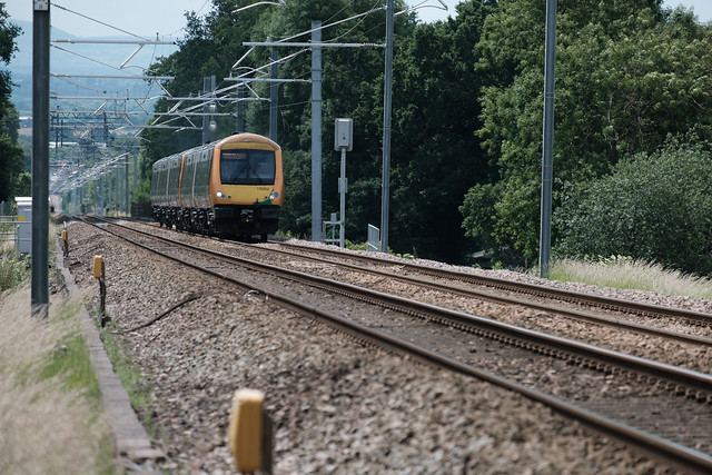 170 502 climbing up Lickey