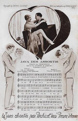 André Perchicot in Pomme d'amour (Jean Dréville, 1932)