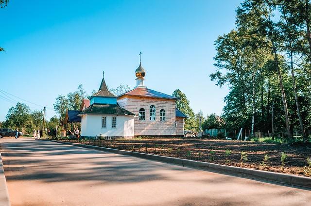 Освящение храма святителя Спиридона в Борисовой Гриве