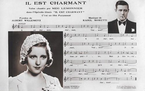 Henri Garat and Meg Lemonnier in Il est charmant (1932)