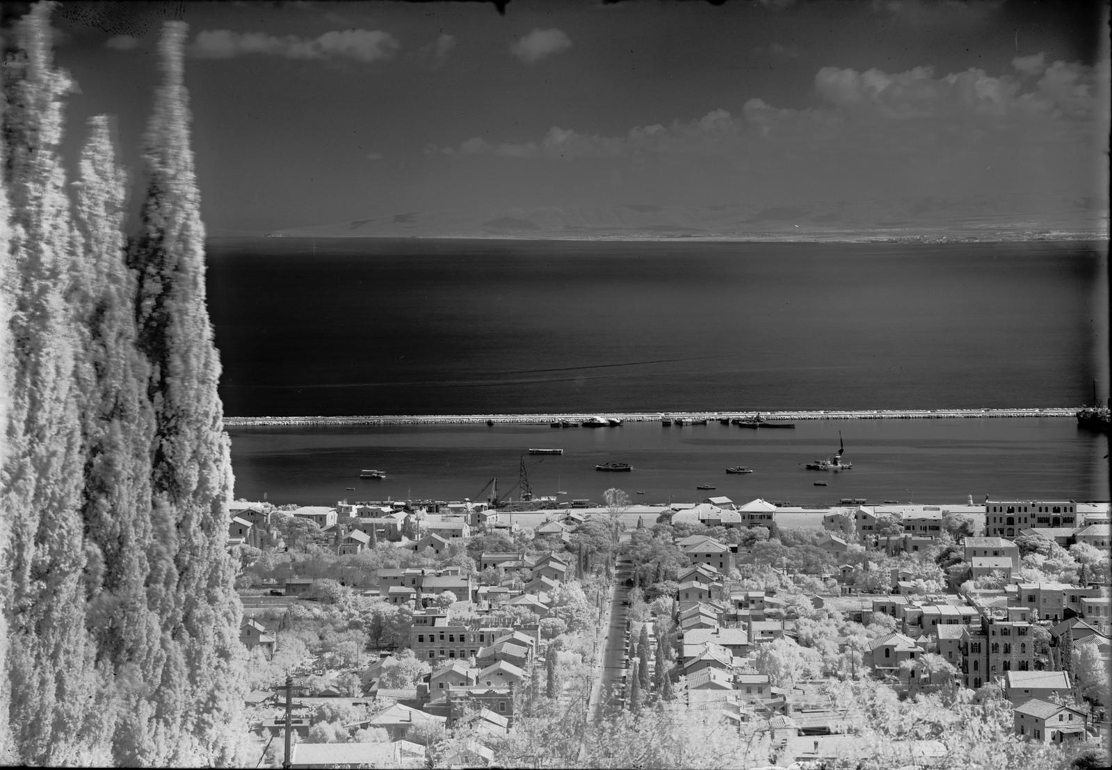 Вид на город с горы Кармель