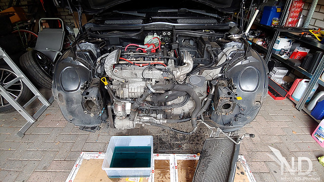 Mini Cooper S R53 JCW Supercharger Service