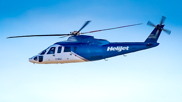 Sikorsky S-76A C-GHJJ Helijet International