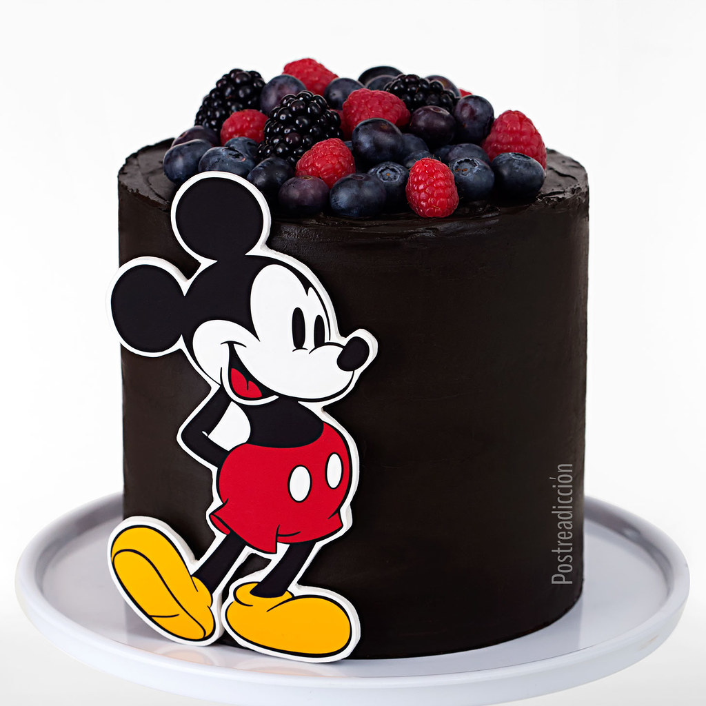 Tutorial tarta mickey