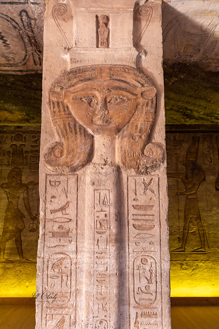 Armchair Traveling - Queen Nefertari Temple at Abu Simbel, Egypt