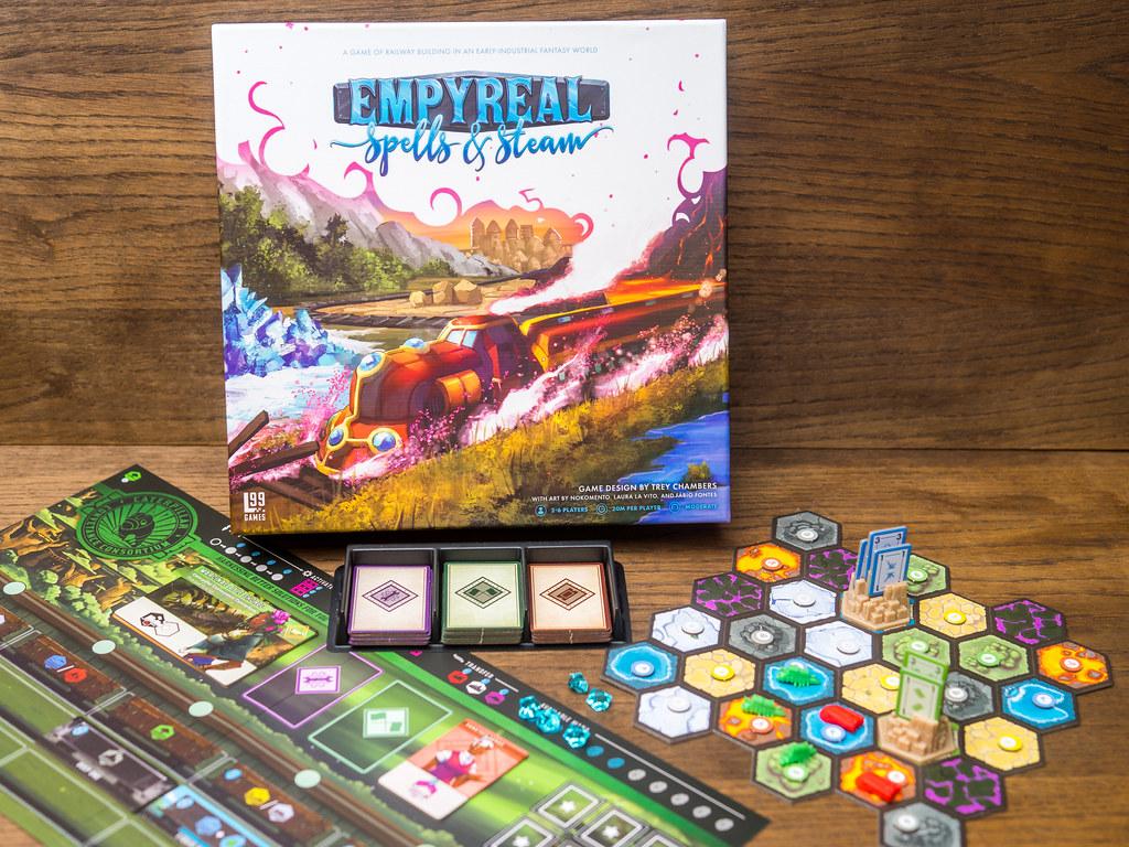 empyreal boardgame juego