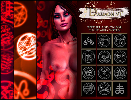 -Elemental' 'Daemon V1' Texture Addon For Magical Aura
