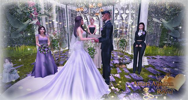 🌺 WEDDING Amari and Autumn ROYAL 🌺