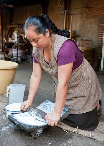 Making Horchata