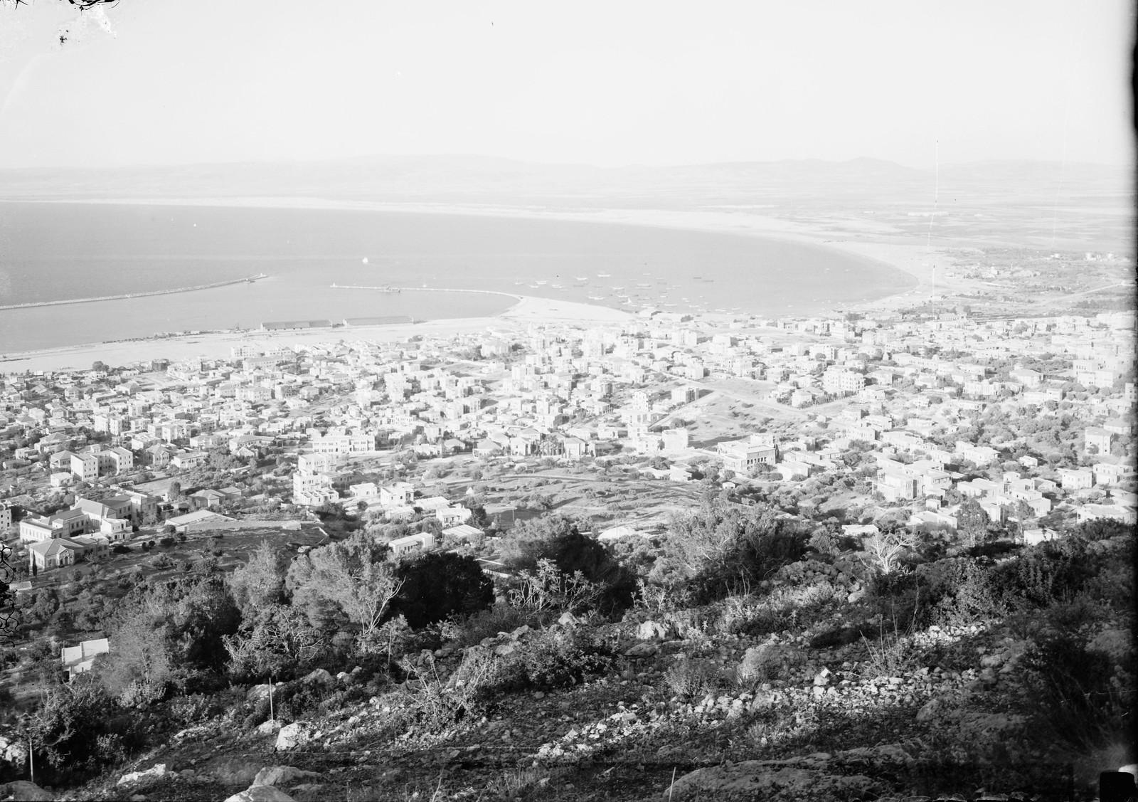 Вид с горы Кармель