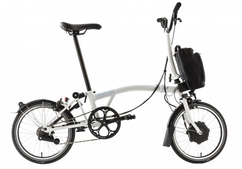 Brompton E-Bike White