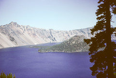 Edge of Crater Lake from Sinnott Crater Lake OR 073162.jpg