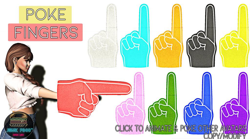 Junk Food – Poke & Smack Fingers Ad
