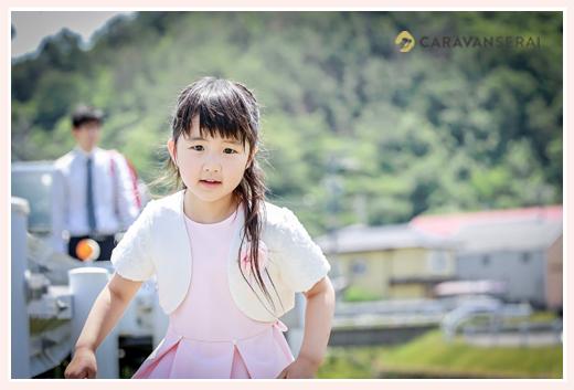 小学校入学記念の家族写真 ロケーションフォト 岐阜市