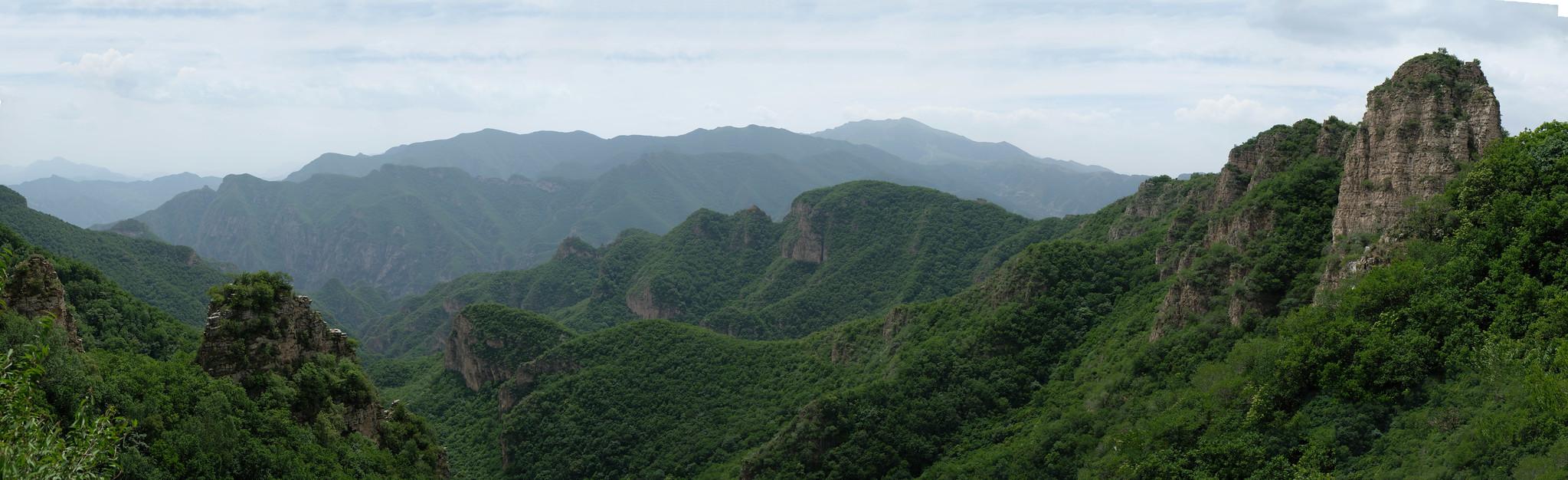 Panorama HuanCaoLiang