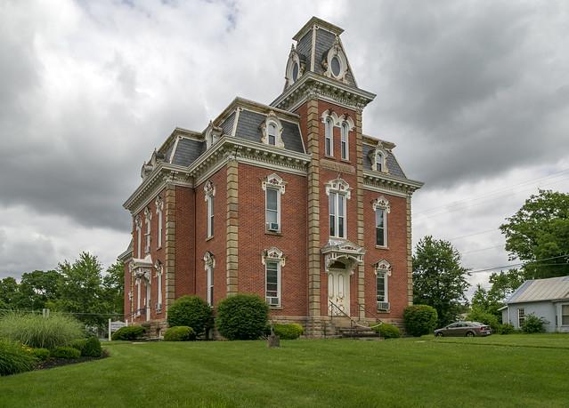 Morrow County Sheriff's Residence and Jail — Mount Gilead, Ohio