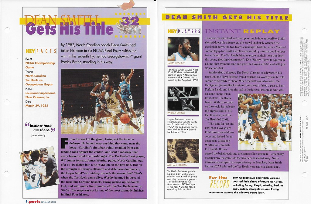 1997 Michael Jordan - James Worthy Greatest Moments 33c