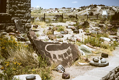 Petroglyphs Petrified Forest NM AZ August 1962.jpg