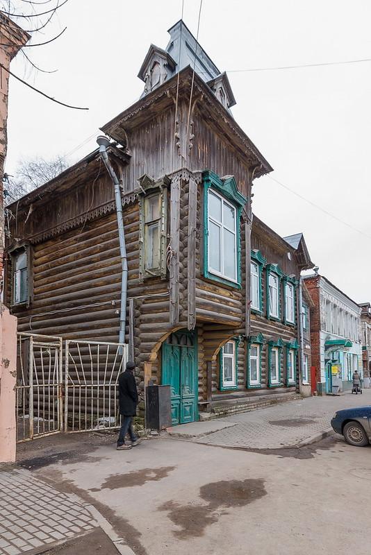 Дом торговцев Серепьевых, Кимры