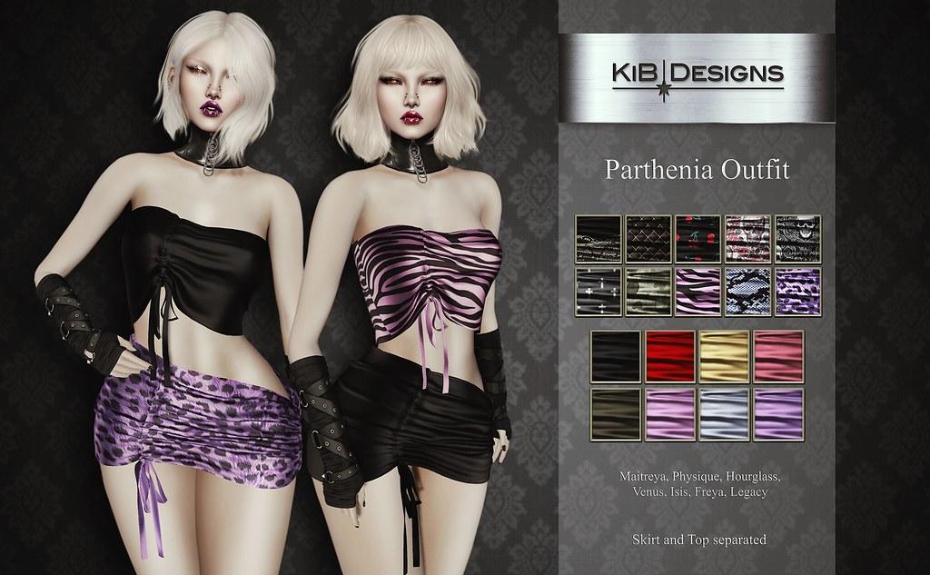 KiB Designs – Parthenia Outfit @Suicide Dollz