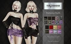 KiB Designs - Parthenia Outfit @Suicide Dollz