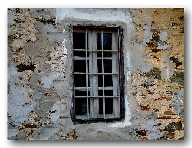 The Window.... Panagouda( Ayios Paisios) ......Ayio Oros......Greece