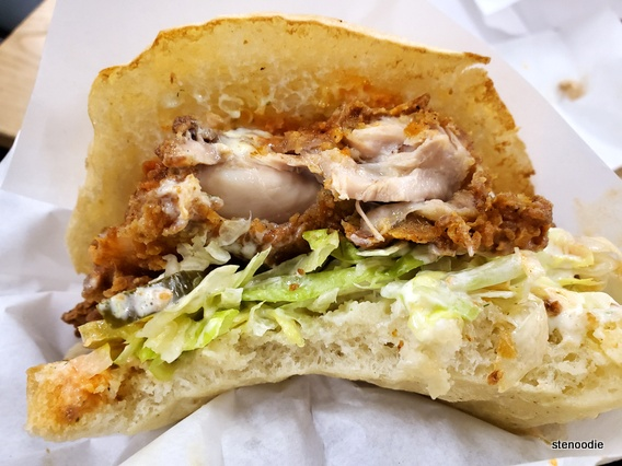 O. G. Fried Chicken sandwich